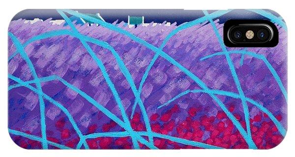 Violet iPhone Case - Spring Landscape by John  Nolan