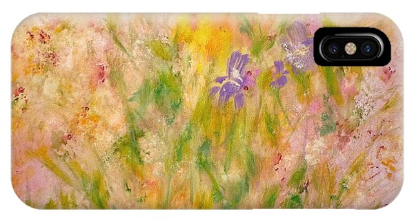Spring Meadow IPhone Case