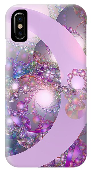 Spring Moon Bubble Fractal IPhone Case