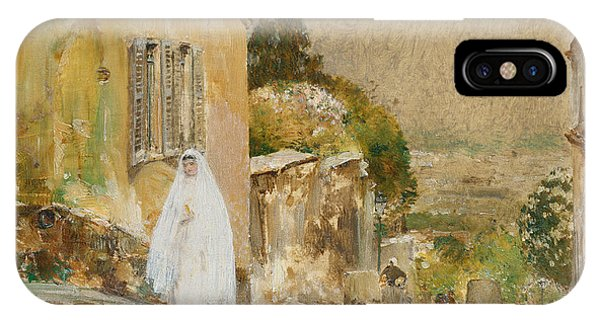 Spring Morning At Montmartre IPhone Case