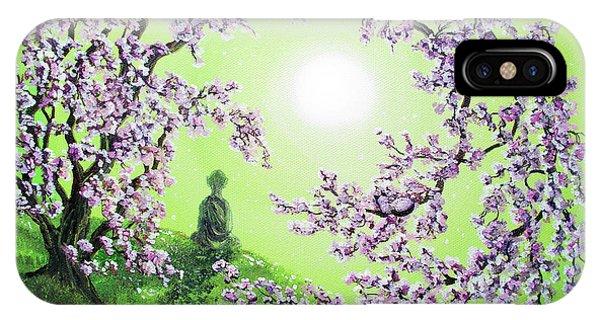 Spring Morning Meditation IPhone Case