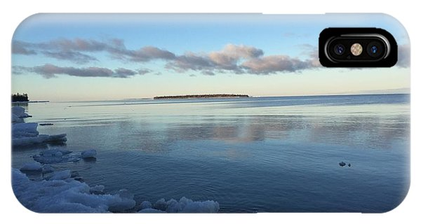 Spring Morning On Lake Superior IPhone Case