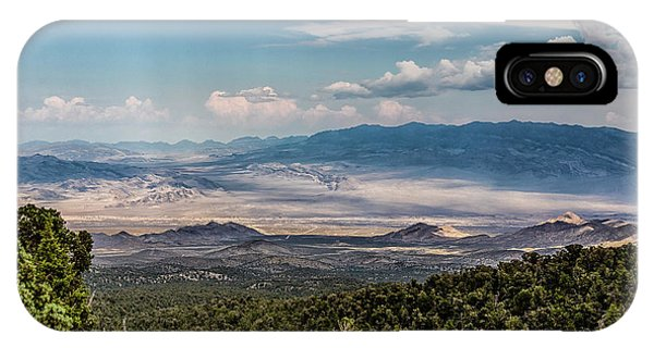 IPhone Case featuring the photograph Spring Mountains Desert View by Michael Rogers