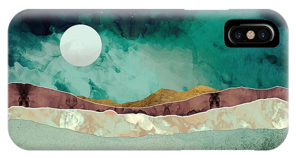 Landscapes iPhone X / XS Case - Spring Night by Katherine Smit