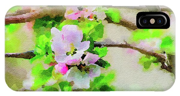 Spring On A Branch IPhone Case
