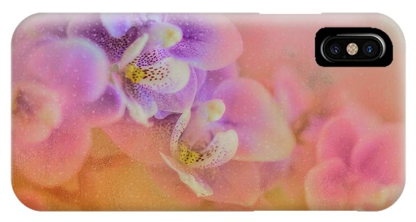 Smoke Fantasy iPhone Case - Spring Orchids by Marvin Spates