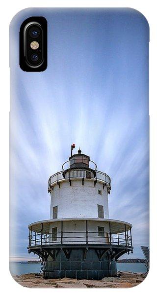Navigation iPhone Case - Spring Point Ledge Lighthouse by Rick Berk
