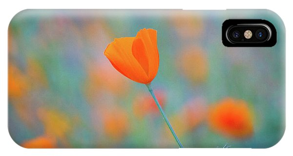 California iPhone Case - Spring Poppy by Anthony Michael Bonafede