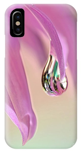 Spring Raindrop By Kaye Menner IPhone Case