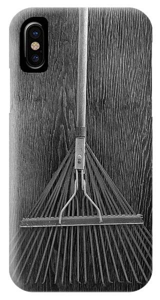 Farm Tool iPhone Case - Spring Rake by YoPedro