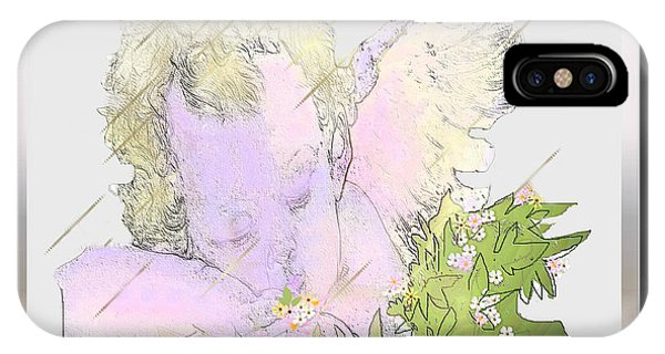 Spring Shower Slumber IPhone Case