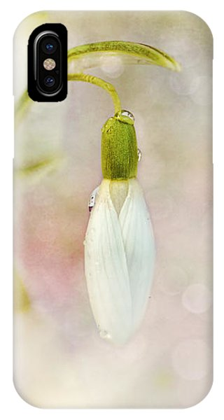 Spring Snowdrops And Bokeh IPhone Case