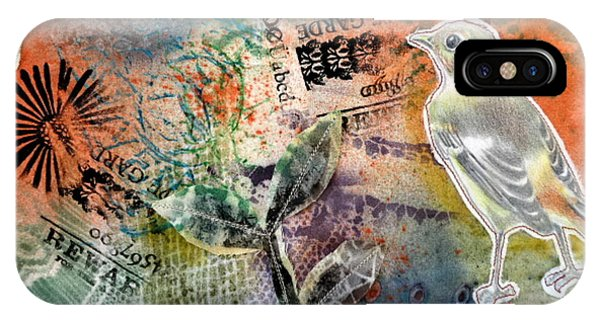 IPhone Case featuring the mixed media Spring Song by Rose Legge