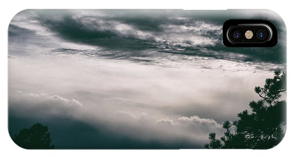 IPhone Case featuring the photograph Spring Storm Cloudscape by Jason Coward