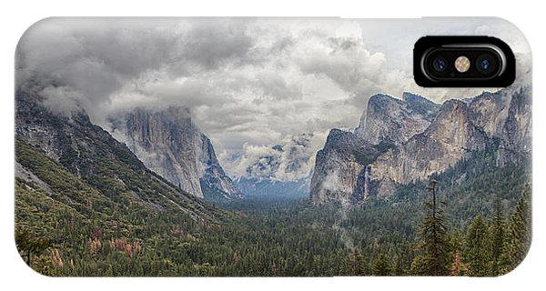 Spring Storm Yosemite IPhone Case