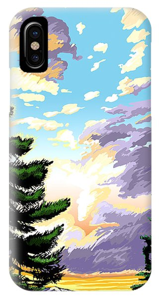 Spring Sunrise 01 IPhone Case