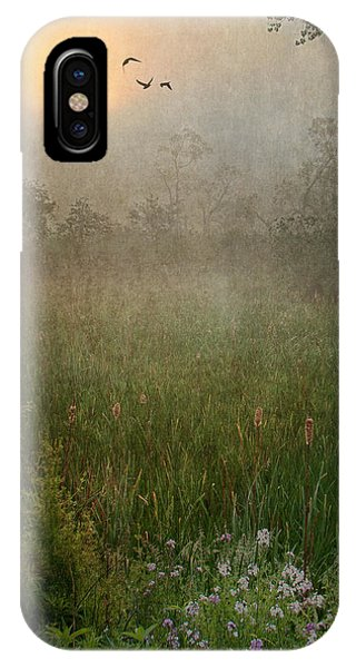 Spring Sunrise In The Valley IPhone Case