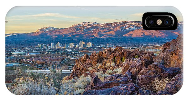 Spring Sunrise Overlooking Reno Nevada IPhone Case