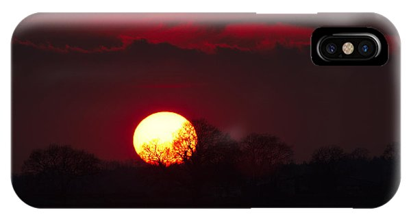 IPhone Case featuring the photograph Spring Sunset by Jeremy Hayden