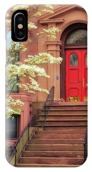 Bushnell Park Brownstone IPhone Case