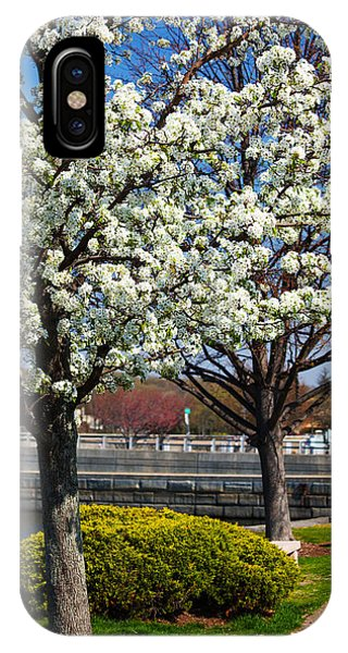 Spring Time In Westport IPhone Case