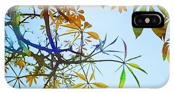 Watercolor iPhone Case - #spring #tree #leaves With #watercolor by Shari Warren