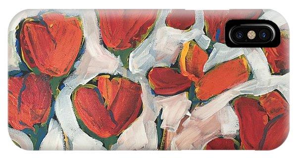 Spring Tulip Garden IPhone Case