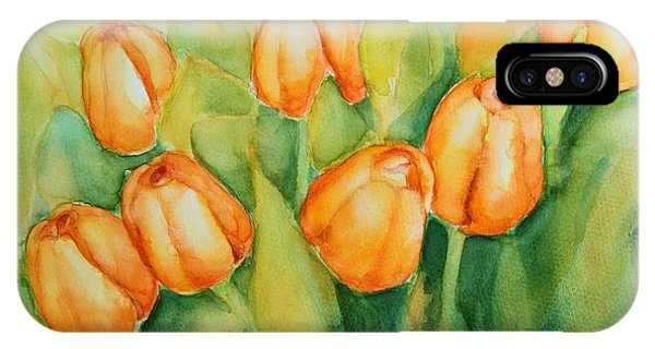 Spring Tulips 1 IPhone Case