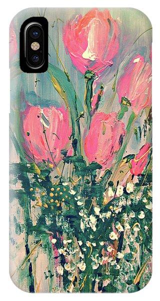 Spring Tulips IPhone Case