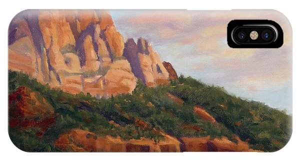Springdale Sunset On Johnson Mountain IPhone Case