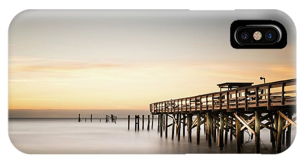Carolina iPhone Case - Springmaid Pier Mathew Aftermath by Ivo Kerssemakers