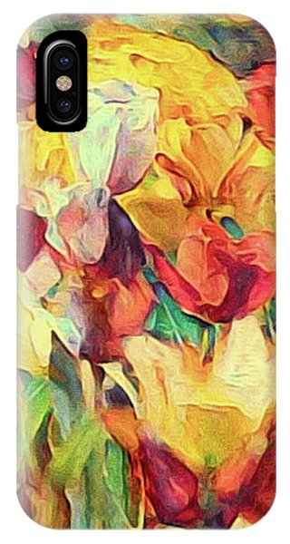 Spring's First Tulips IPhone Case