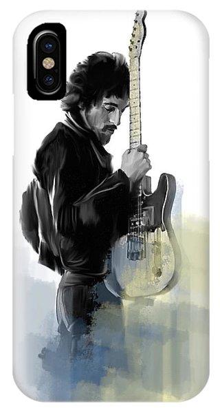 Springsteen Bruce Springsteen IPhone Case