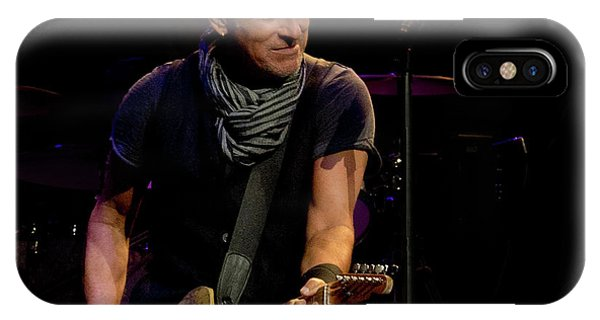 Springsteen-cleveland River Tour 2016 IPhone Case