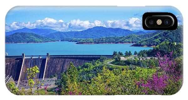 Springtime At Shasta Lake Dam IPhone Case