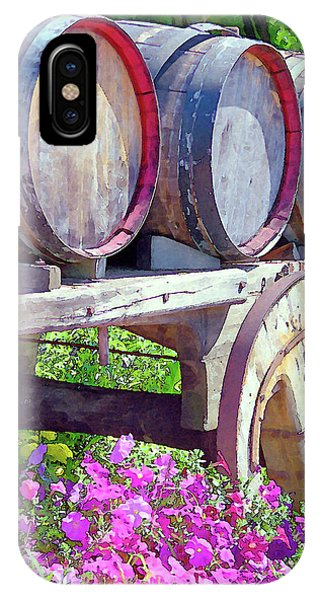 Springtime At V Sattui Winery St Helena California IPhone Case