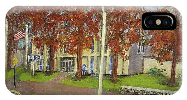 Springtime At Waltham Police Station IPhone Case
