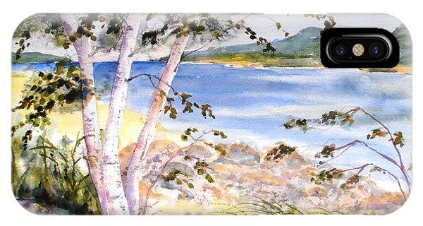 Springtime Birches IPhone Case