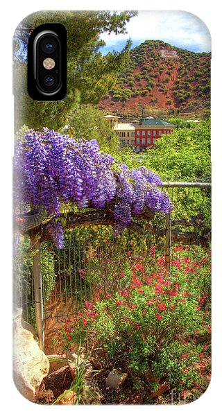 Springtime In Old Bisbee Arizona IPhone Case