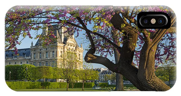 IPhone Case featuring the photograph Springtime In Paris by Brian Jannsen