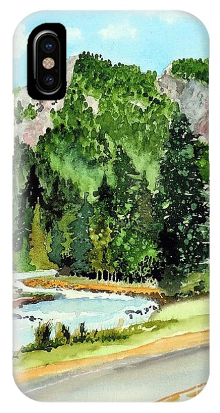 Springtime Poudre Canyon IPhone Case