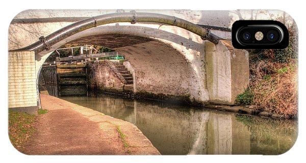 iPhone Case - Springwell Lane Bridge - 176 by Chris Day