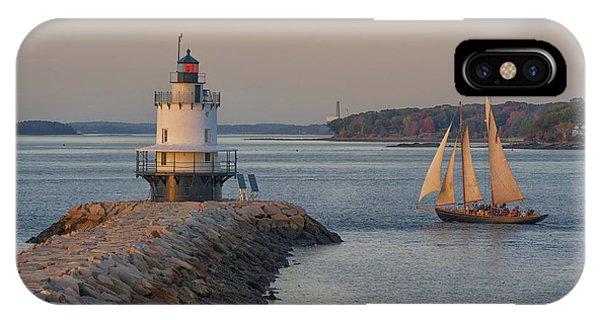 Sprint Point Ledge Sails IPhone Case