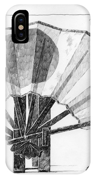 Spirit Of Japan. Fan And Matchbox IPhone Case