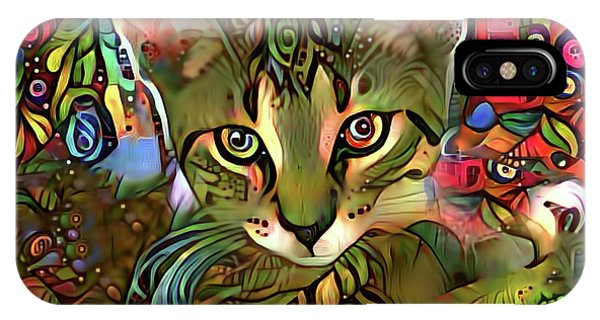 Sprocket The Tabby Kitten IPhone Case