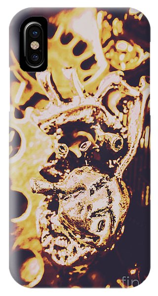 Technical iPhone Case - Sprockets And Clockwork Hearts by Jorgo Photography - Wall Art Gallery