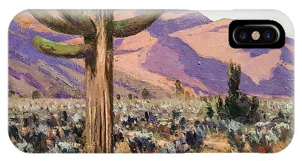 Spur Cross Ranch IPhone Case