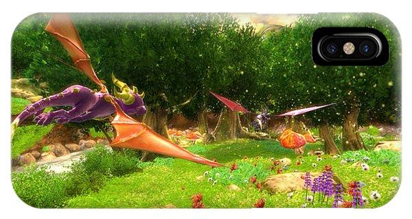 iPhone Case - Spyro The Dragon by Eloisa Mannion