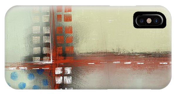 IPhone Case featuring the mixed media Square The Circles by Eduardo Tavares