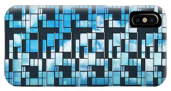 North London iPhone Case - Squaretangle by Tim Gainey